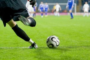 Meniscus injury very often occurs at football players