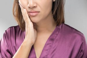 Jaw pain on one side